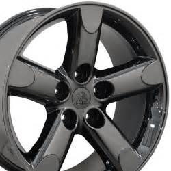 20 quot pvd black chrome ram 1500 runner style wheel