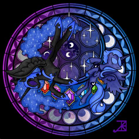 mlp nightmare moon stained glass nightmare moon gigisquillace twitter