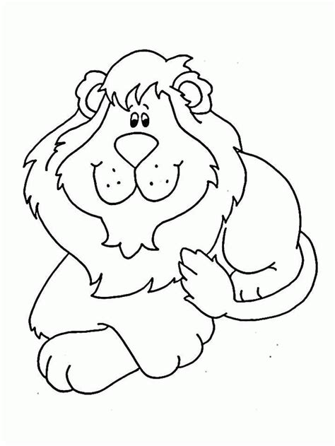 printable lion images lion coloring pages coloringpagesabc com