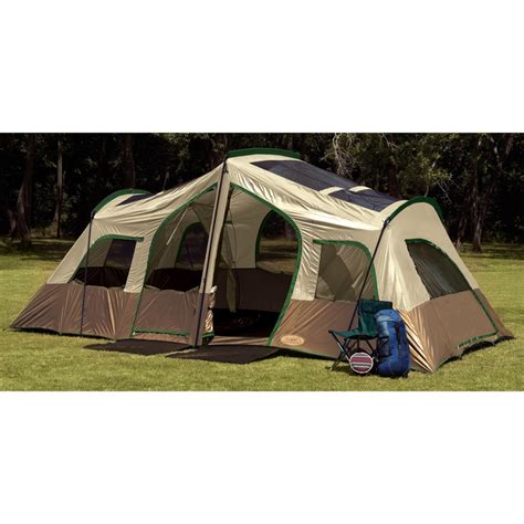 3 room tent texsport 174 sequoia pass 3 room cabin tent 204752 cabin tents at sportsman s guide