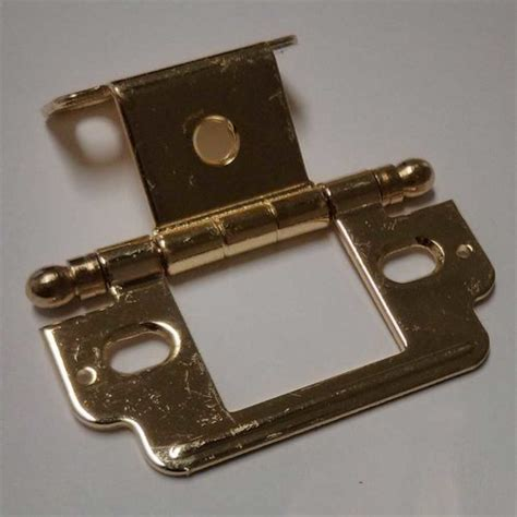 amerock full inset cabinet hinges amerock full inset ball tip hinge polished brass sold each