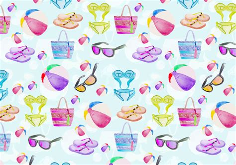vector pattern summer free vector summer seamless pattern download free vector