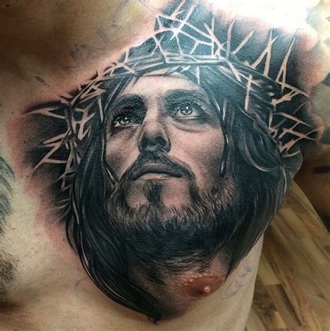 tattoo designs jesus face 30 revere jesus designs amazing ideas