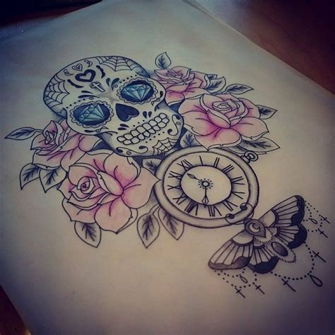 candy girl tattoo designs 25 best ideas about skull on