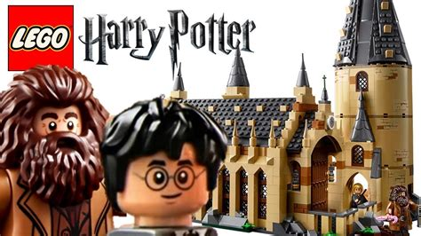 harry potter official 2018 1785493590 an unexpected reveal 2018 lego harry potter hogwarts great hall my thoughts youtube