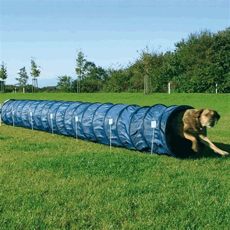 agility tunnel large agility tunnel 5m by 60cm diameter lines
