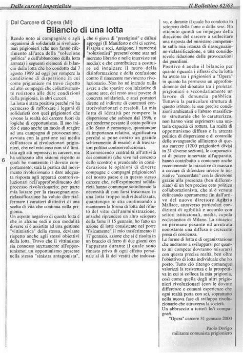 bilancio di una paolo dorigo contro italia