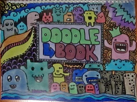 doodle book means doodle book cover by maikakeeki