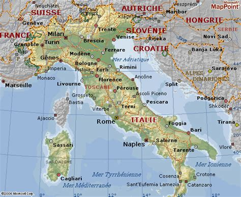 d italai plan d italie