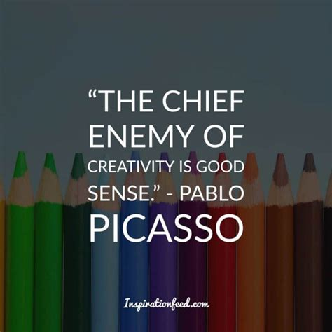 pablo picasso quotes 30 pablo picasso quotes on creativity inspirationfeed