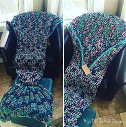 crochet mermaid blanket tutorial diy