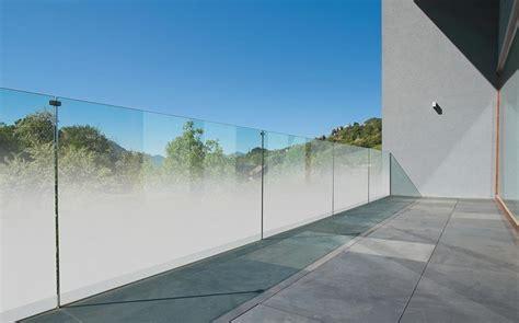 balkongeländer aus glas teilsatiniertes madras nuvola jetzt auch f 252 r