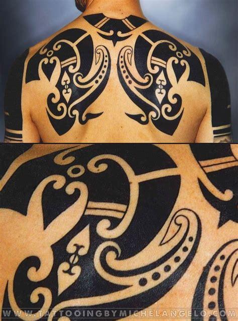 tribal nations tattoo deal schiena borneo stile borneo blackwork by