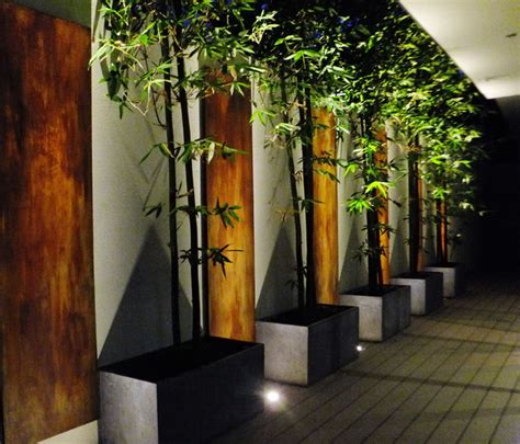 Ideas For Bathrooms Remodelling bamboo amp rust contemporary landscape perth by