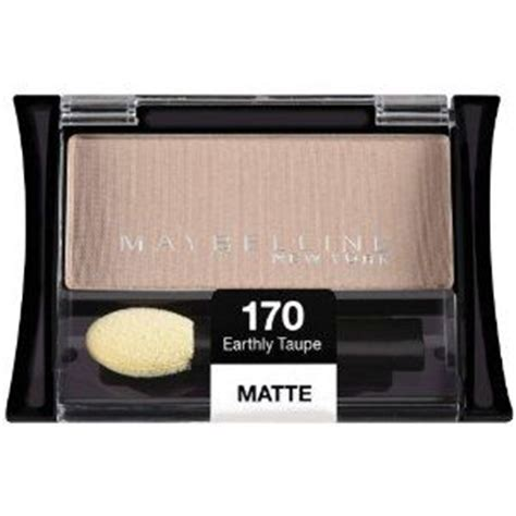 Best Eyeshadows Expert Reviews by Maybelline Expertwear Eye Shadow Earthly Taupe Matte