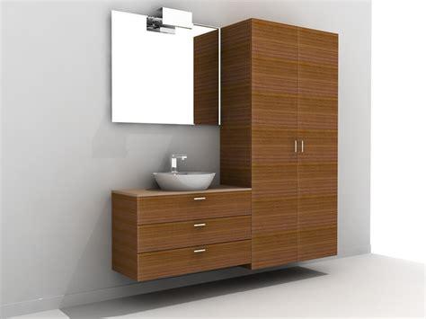 tall bathroom vanity cabinet 3d model 3ds maxautocad