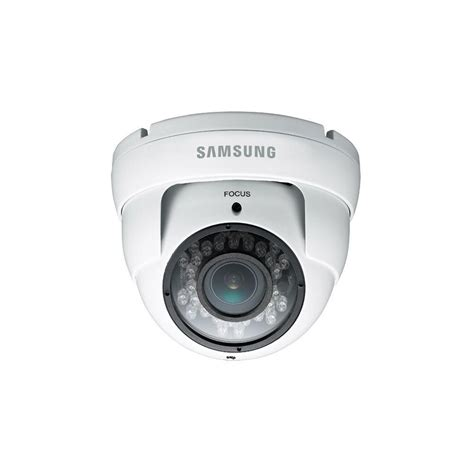 Cctv Outdoor Samsung samsung security cams wired 700tvl indoor outdoor vary focal dome with 82 ft