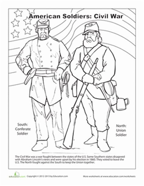 civil war worksheet education com