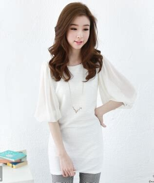 Japanese Style Blouse japanese style puff sleeve cheap blouse wholesale holes lines womens white blouse