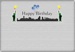 new york happy birthday cards happy birthday card new york city statue of liberty