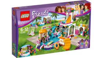 lego friends schwimmbad 41313 heartlake summer pool products lego 174 friends