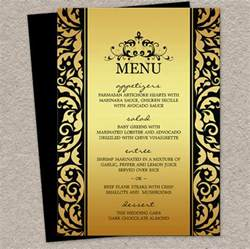 menu card template 9 dinner menu templates design templates free