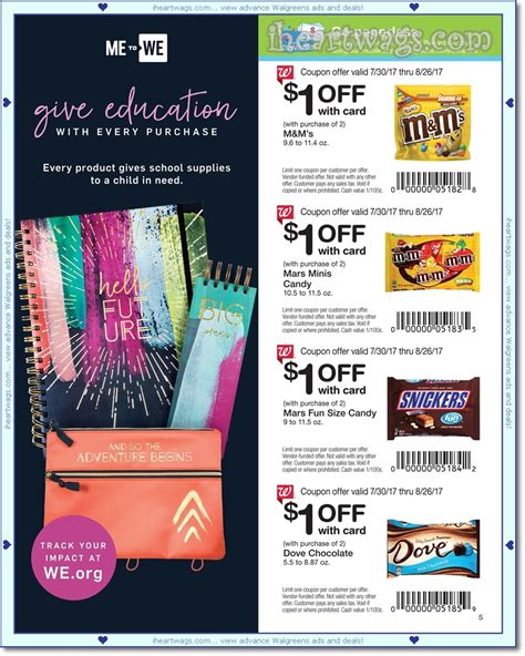 walgreens picture book i wags ad scans august 2017 coupon book 07 30 08 26