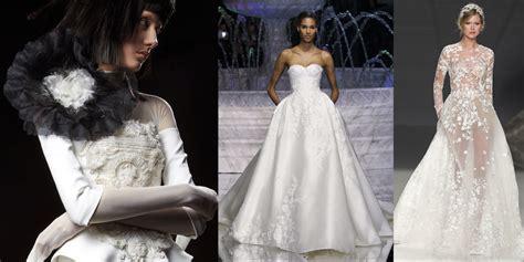abiti da sposa fiori gli abiti da sposa 2018 la tendenza li vuole decorati di