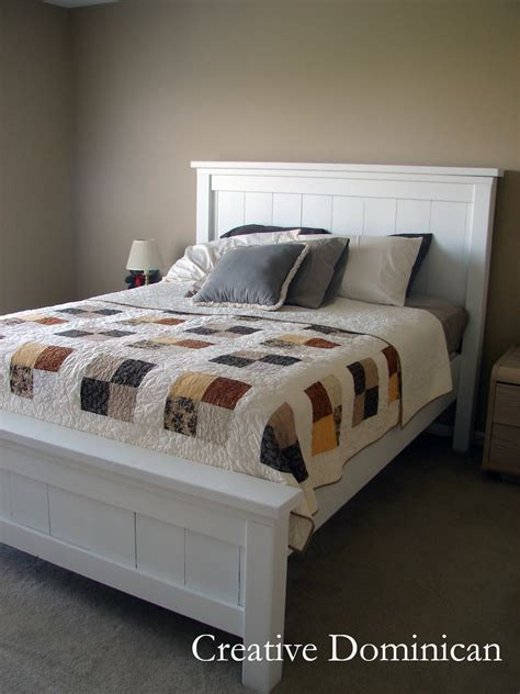 In Bed by White Farmhouse Bed Diy Projects