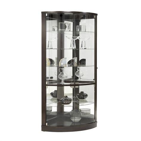 pulaski corner curio cabinet pulaski onyx curio cabinet