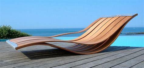 Sun Lounge Chair Design Ideas Creative Wooden Pool Lounge Chair Design By Pooz Plushemisphere