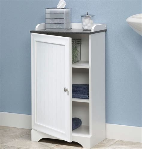 Bathroom Cabinets With Shelves Floor Storage Cabinet Bathroom Organizer Cupboard Shelf Shelves Linen Bath Towel Ebay