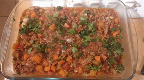 food cottage butternut squash topped cottage pie rhubarb fit