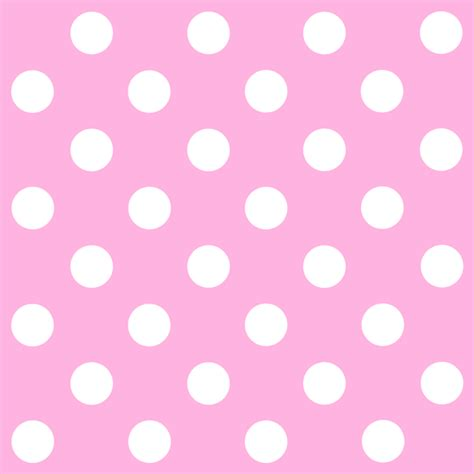 white and pink polka dot pink and white polka dots pattern free clip