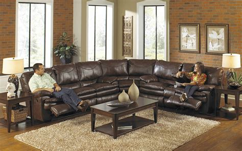abbyson living charlotte dark brown sectional sofa and ottoman inspirational ferrara leather recliner sectional sofa by