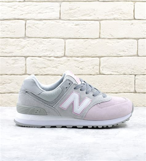 Nb 574 Grey Pink new balance 574 grey light pink premium