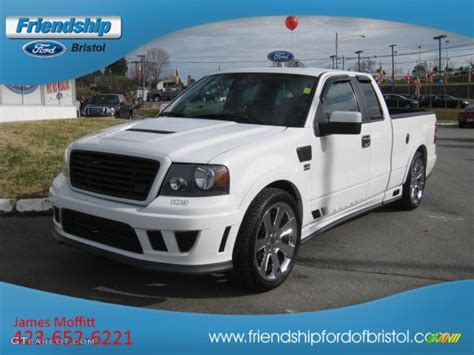 Ford F150 Saleen by 2007 Oxford White Ford F150 Saleen S331 Supercharged