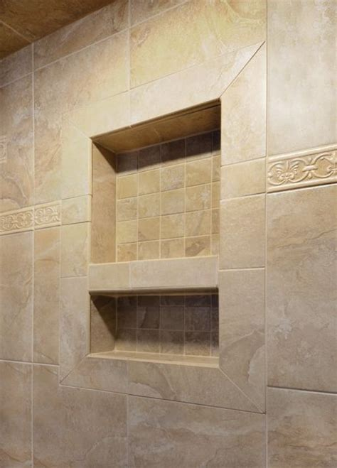 Ceramic Tile Backsplash by Preformed Shower Niches Amp Shelves Pacific Tile Of Alaska