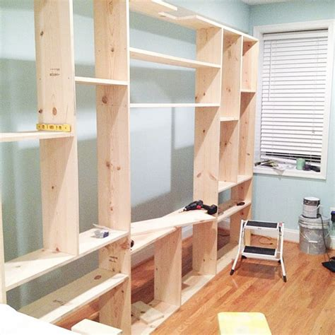 how to build custom cabinets yourself diy custom built in bookcases little house big city