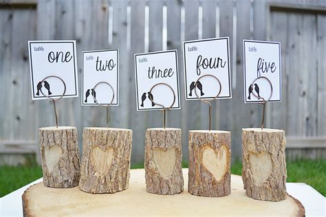 Table Number Holders Wedding by Unavailable Listing On Etsy