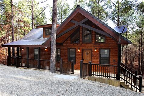 Cabins In Broken Bow Oklahoma by Hillside Paradise Cabin In Broken Bow Ok Sleeps 2