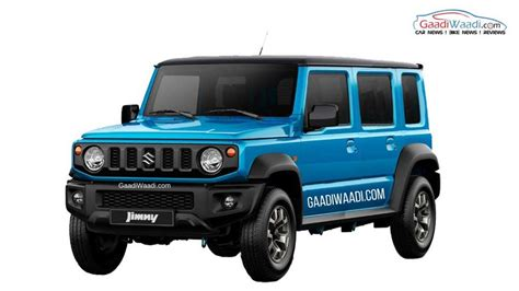 suzuki jeep 4 door all jimny suv could become in india in 4 door