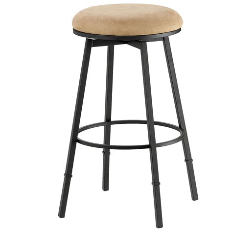 Stool In by Hillsdale Backless Bar Stools Sanders Adjustable Backless