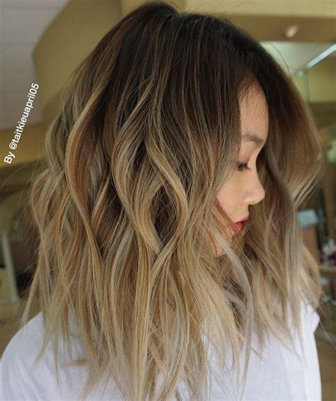 ombre lob hair brown ombre hair solutions for any taste