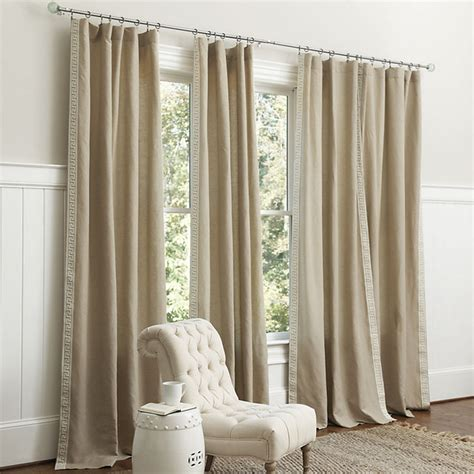 greek drapery olympia greek key panel traditional curtains by