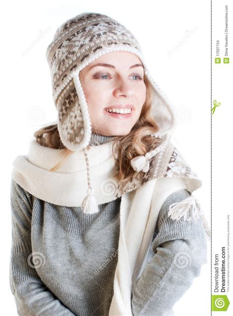 woman in winter clothing woman in winter clothes stock images image 17037134