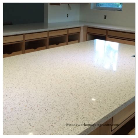 our experience with recycle glass countertops