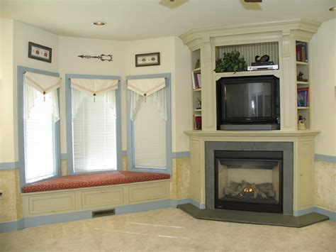 corner fireplace mantels with tv above fireplace