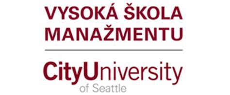 Studium Mba Bratislava by Vysok 225 škola Manažmentu City Of Seattle