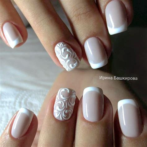 Wedding Nail Designs by 35 Glamorous Wedding Nail Ideas For 2018 Best Bridal